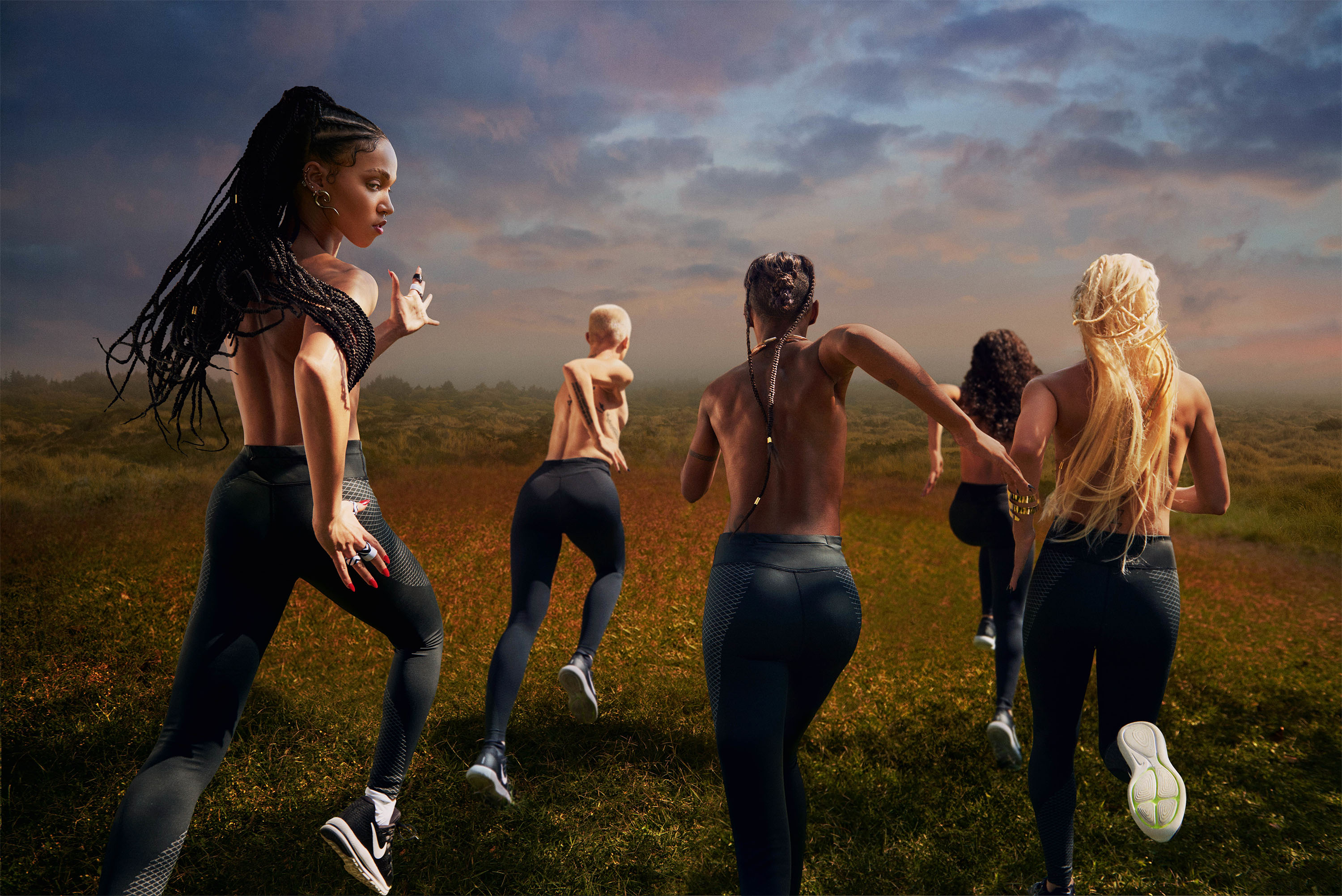Do you believe in more? by FKA Twigs for Nike