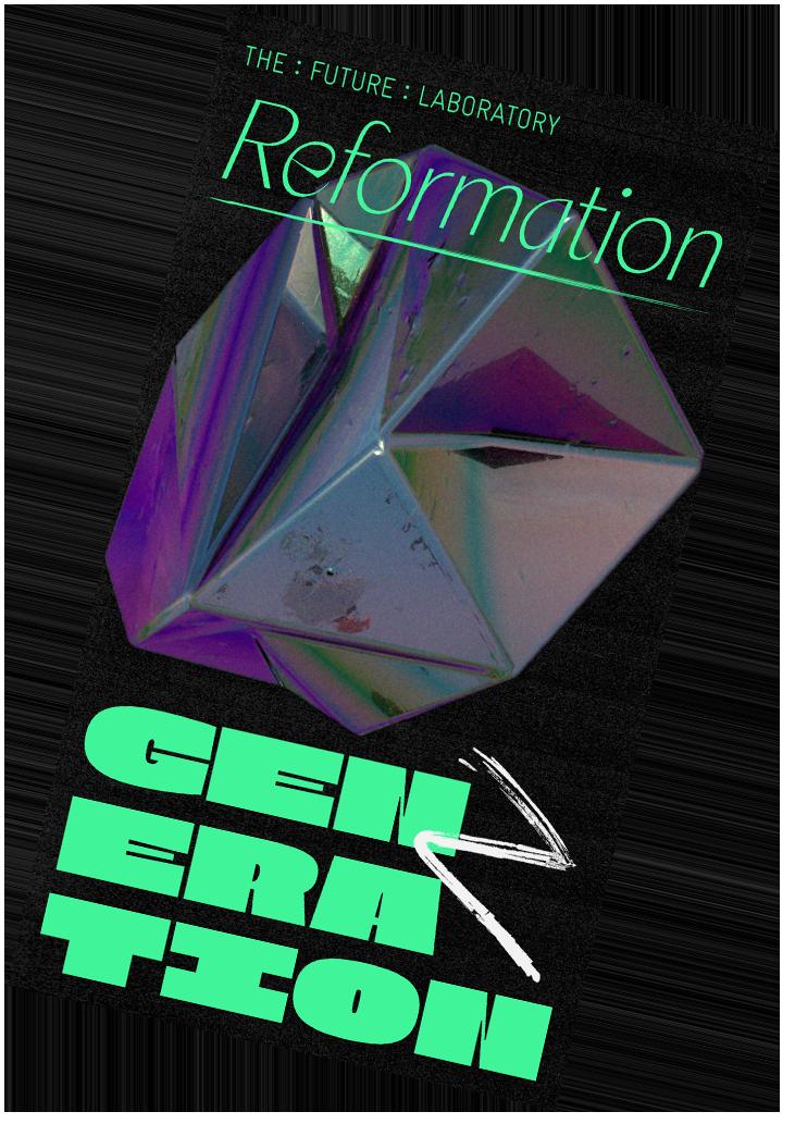 Reformation Generation Z Zine Cover