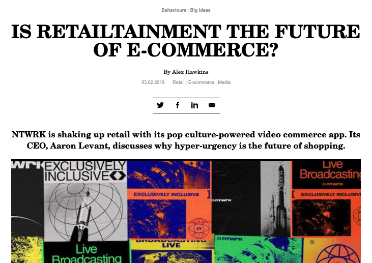 Is retailtainment the future of e-commerce?